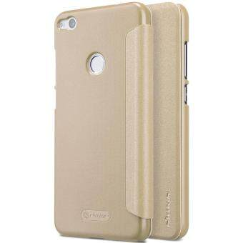 ... Metal Frame Bumper Thin Hard PC Back . Source · Harga Nillkin Case For Huawei P8 Lite 2017 Case Nillkin Sparkle Flip PULeather PC Cover For