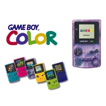 Harga Nintendo Gameboy Color With 1 Multigames Bundle