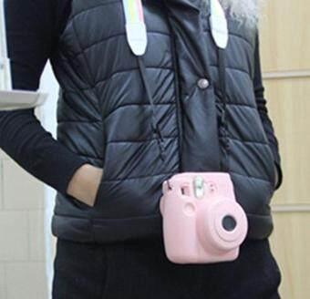 Noctilucent Camera Case Skin Cover For FUJIFILM Instax Mini8 Mini8sPink - 2