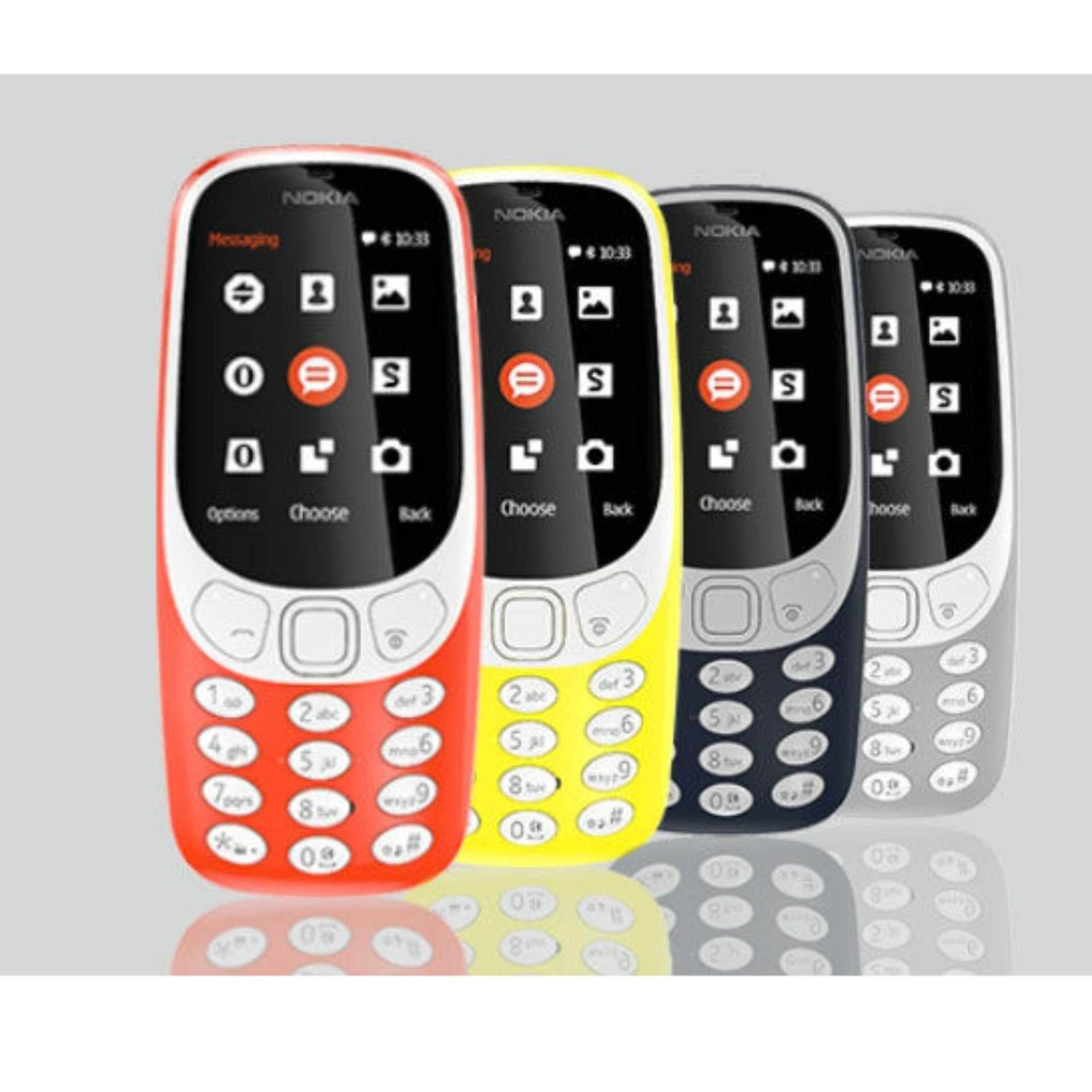 Nokia 3310  Back To Classic Best Seller, Nokia 3310 Blue, Nokia 3310 Orange, Nokia 3310 Grey, Nokia 3310 Black