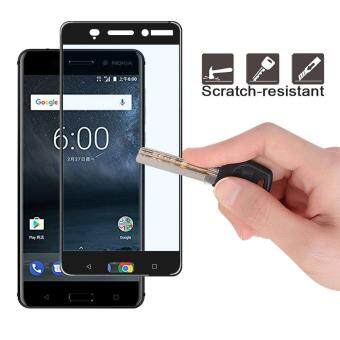 2 Pack Tempered Glass Screen Protector for Nokia 6 Full Screen Coverage 5.5 inch Glass Protector