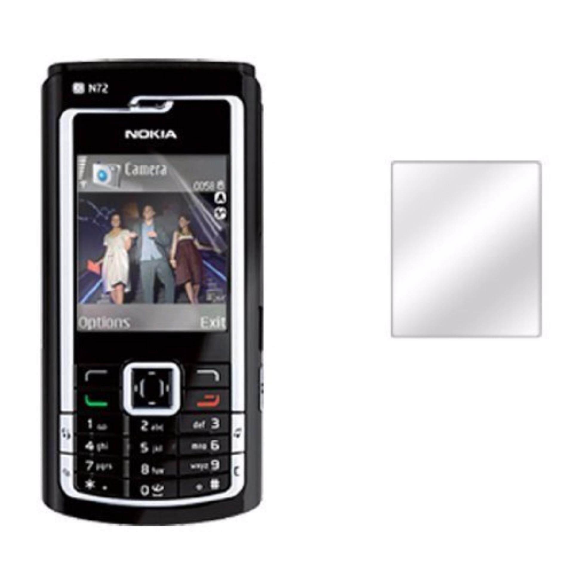Nokia N72 Clear Screen Protector