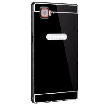 OEM Aluminum Metal Case For Lenovo vibe z2 pro k920 with HD ScreenProtector -Black