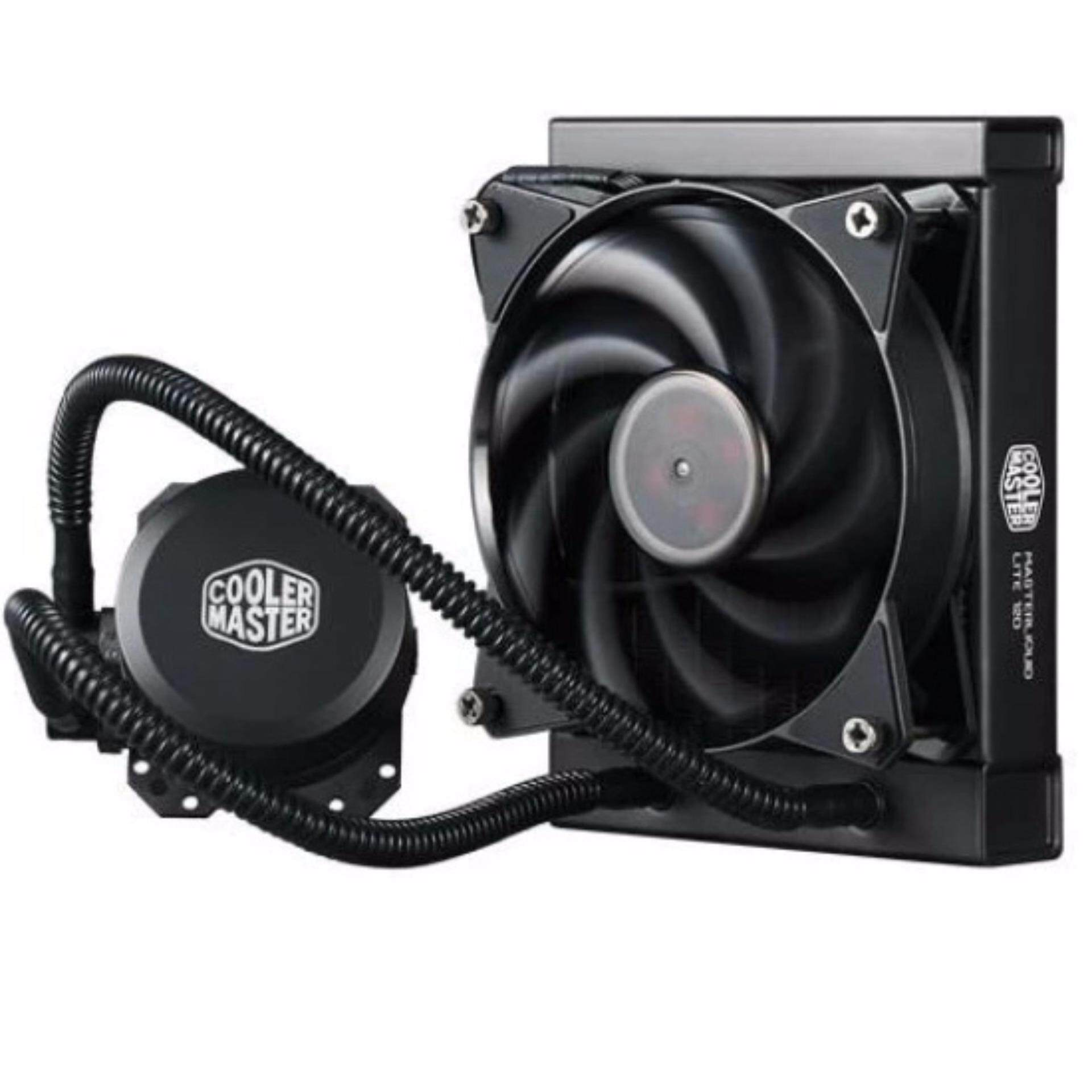 Official Cooler Master MasterLiquid Lite 120 AIO CPU Water Cooler (MLW-D12M-A20PW-R1)