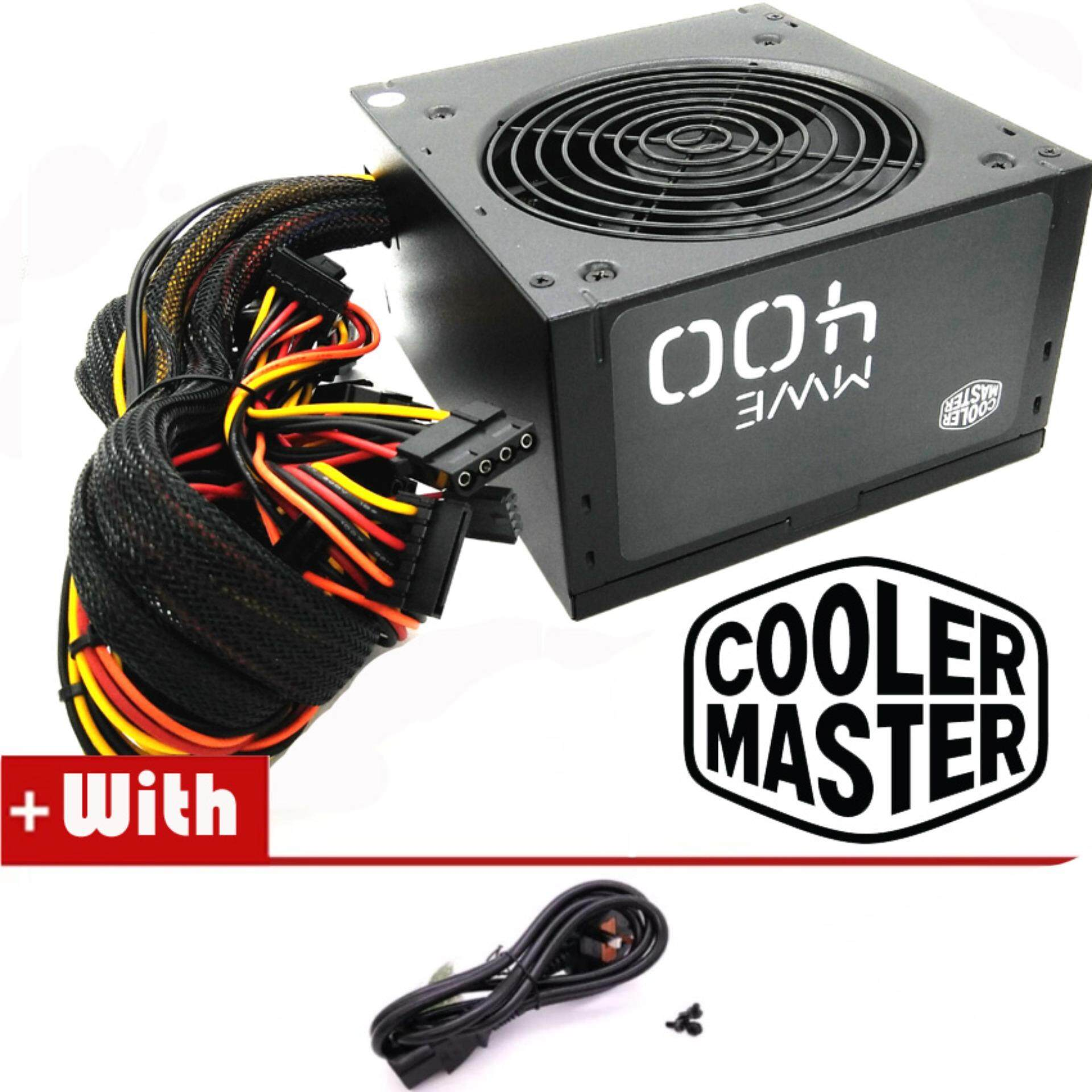 Official Cooler Master MWE 400 Reliable and Energy Efficient Power Supply