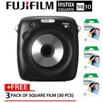 (OFFICIAL) Fujifilm Instax Square SQ10 Mini Hybrid Instant Camera FREE 30 Pcs Square Film (Original FujiFilm Malaysia Warranty)