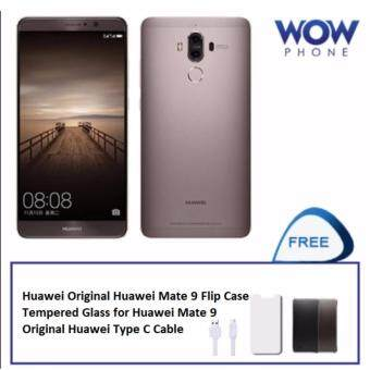"Harga (Official Huawei Warranty) Huawei Mate 9 4GB+64GB 5.9"" Free Giftworth 199!!"