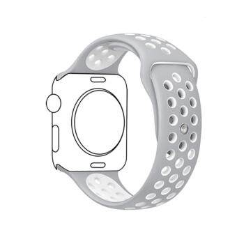 Ontube For Apple Watch Band Nike+ Series 3/2/1, Soft Silicone Sport