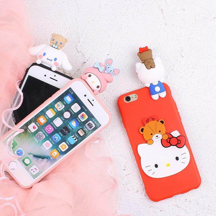 Oppo F1 A35 Soft Case Hello Kitty Cute Figure Casing Protection