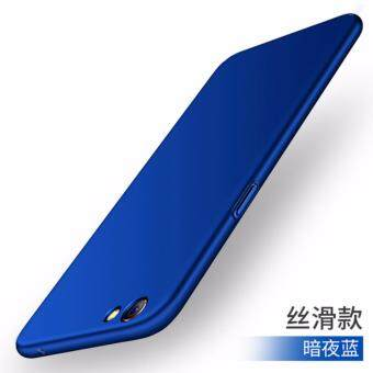 Oppo R9s Full Covered Protective Matte Case Cover Casing (Blue)
