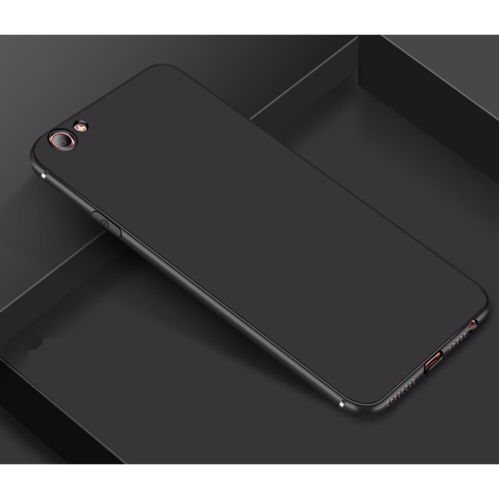 OppoA57 Plain Red And Black casing protection