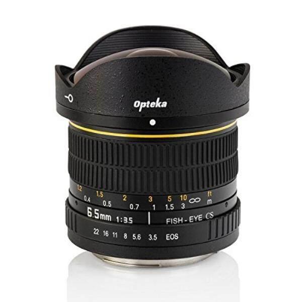 Opteka 6.5 Mm F/3.5 Fisheye Lensa untuk Nikon D7500, D7200, D7100, D7000, D5500, d5300, D5200, D5100, D3400, D3300, D3200 dan D3100 Digital SLR Kamera-Internasional