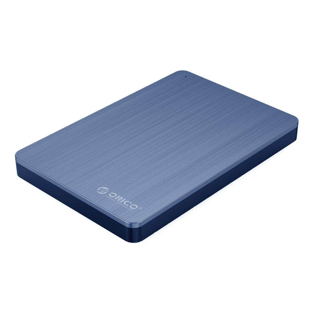 Orico MD25U3 2.5 Inch USB3.0 Hard Drive Enclosure With Aluminium & ABS Material - Blue