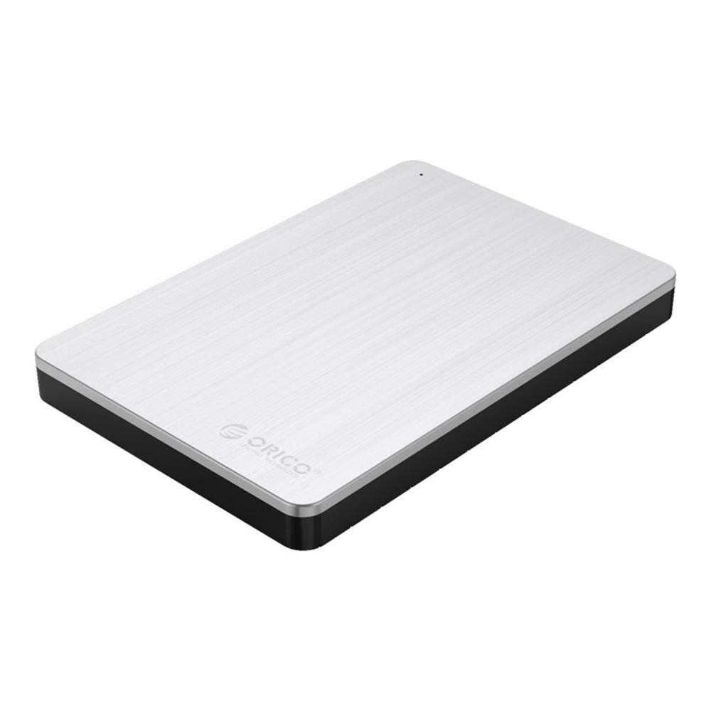 Orico MD25U3 2.5 Inch USB3.0 Hard Drive Enclosure With Aluminium & ABS Material - Silver