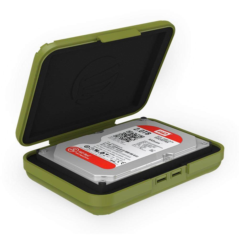 Orico PH2X 3.5'' 2 bay HDD Protection Box - Green