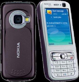 Original Classic Phone Nokia N73 (Silver/Black)