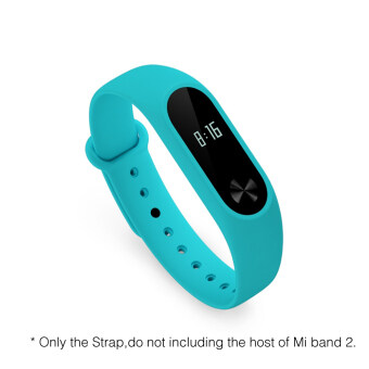 Original Colorful Xiaomi Mi Band 2 Strap Mi Band 2 BraceletAccessories Replaceable Band Silicone Wristband For Xiaomi Band 2