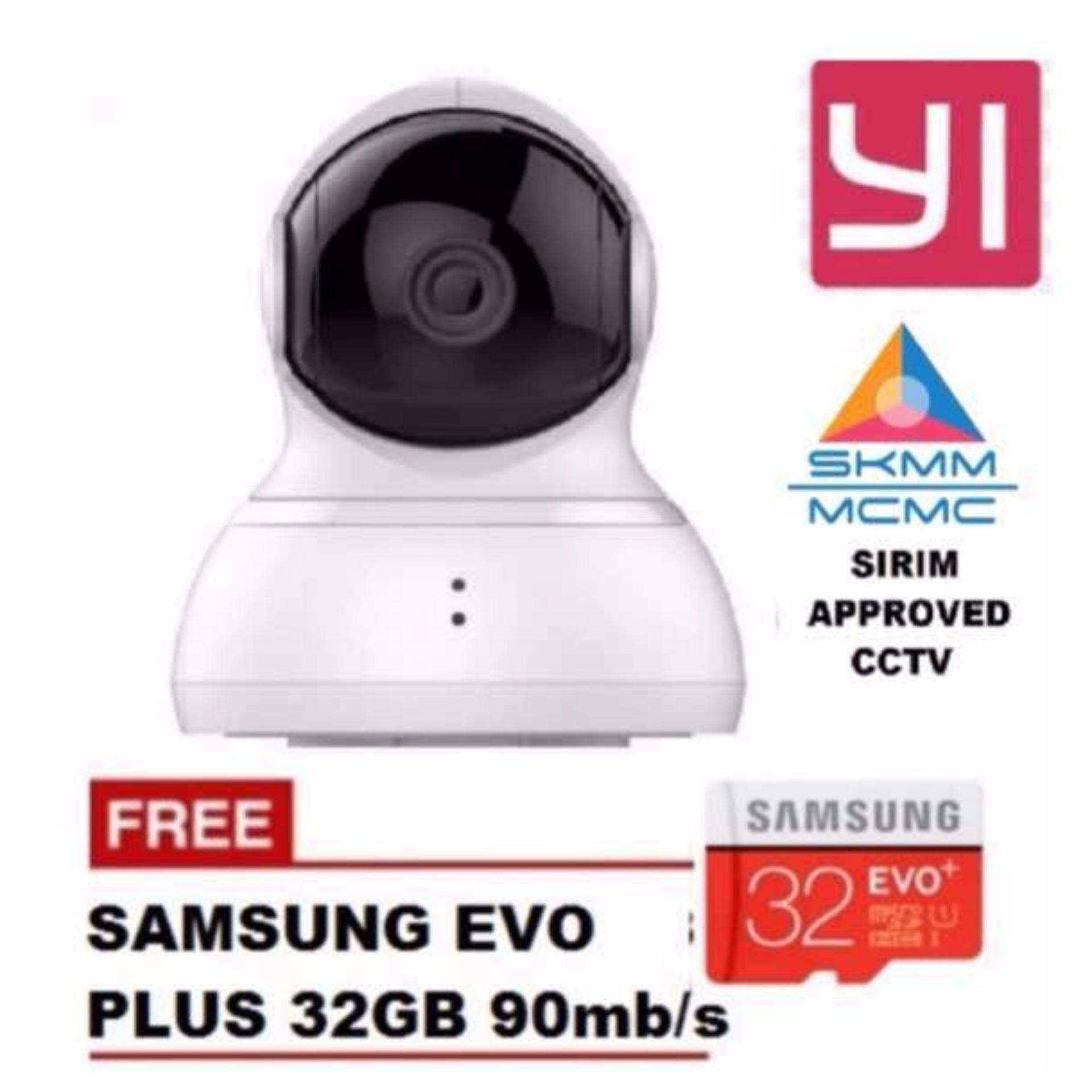 Cctv Security Cameras By Xiaomi Reviews Ratings And Best Price In Original Yi Dome 720p Camera International Version White Hd Samsung 32gb Cl10 Bundle