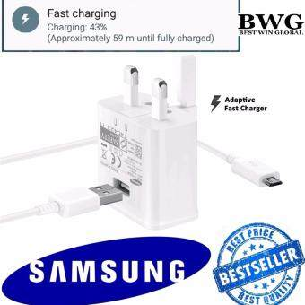 ORIGINAL SAMSUNG Adaptive Fast Charger 9V Adapter & Cable for Samsung S6 S7 Edge Note 4 5 (Import)