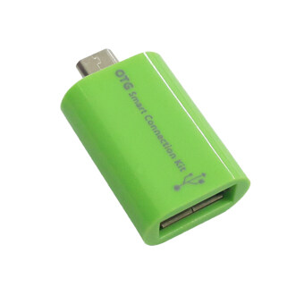 OTG Smart Connection Kit - Micro USB to USB (Green)