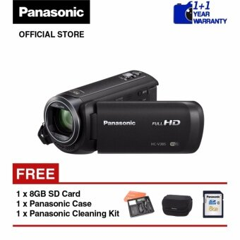 Harga Panasonic HC-V385 Full-HD Camcorder (Black)
