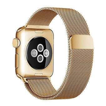 Apple Watch Band Magnetic Clasp Mesh Loop Milanese Stainless Steel Replacement Strap For Apple Watch Sport
