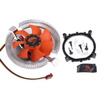 PC CPU Cooler Cooling Fan Heatsink for Intel LGA775 1155 AMD AM2 AM3 754