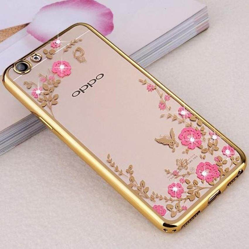 ... Peacock Rose Gold Source · Features Secret Garden Diamond Tpu Back Case Cover For Oppo R7 Plus Source Plating Clear TPU