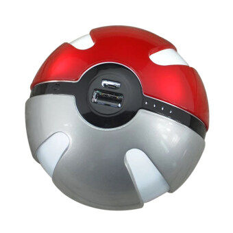 Harga Pokemon Go Pokeball 10000mAh LED Light PowerBank