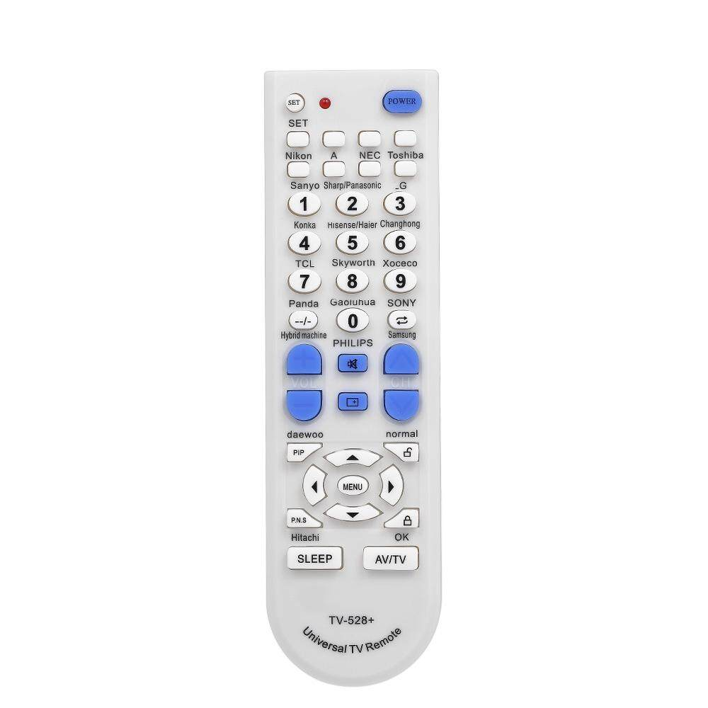 Portable Universal TV Remote Control Wireless Smart Controller Replacement for Sony LG Smart TV White