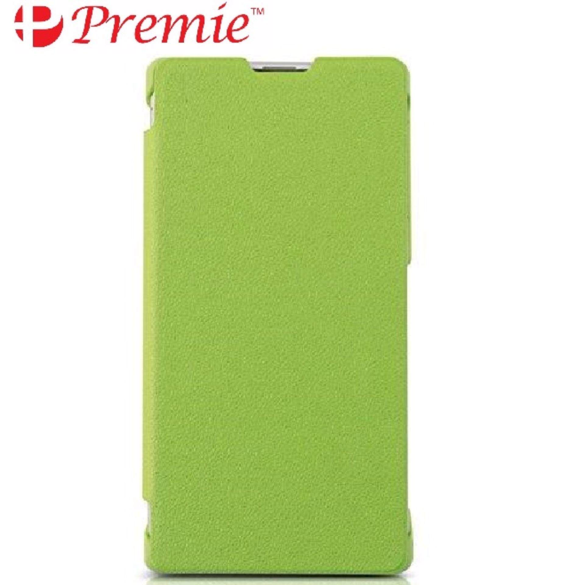 wholesale dealer bfd6a 5650f PREMIE Cover Flip Case for Sony Xperia Z3 Compact (Green)