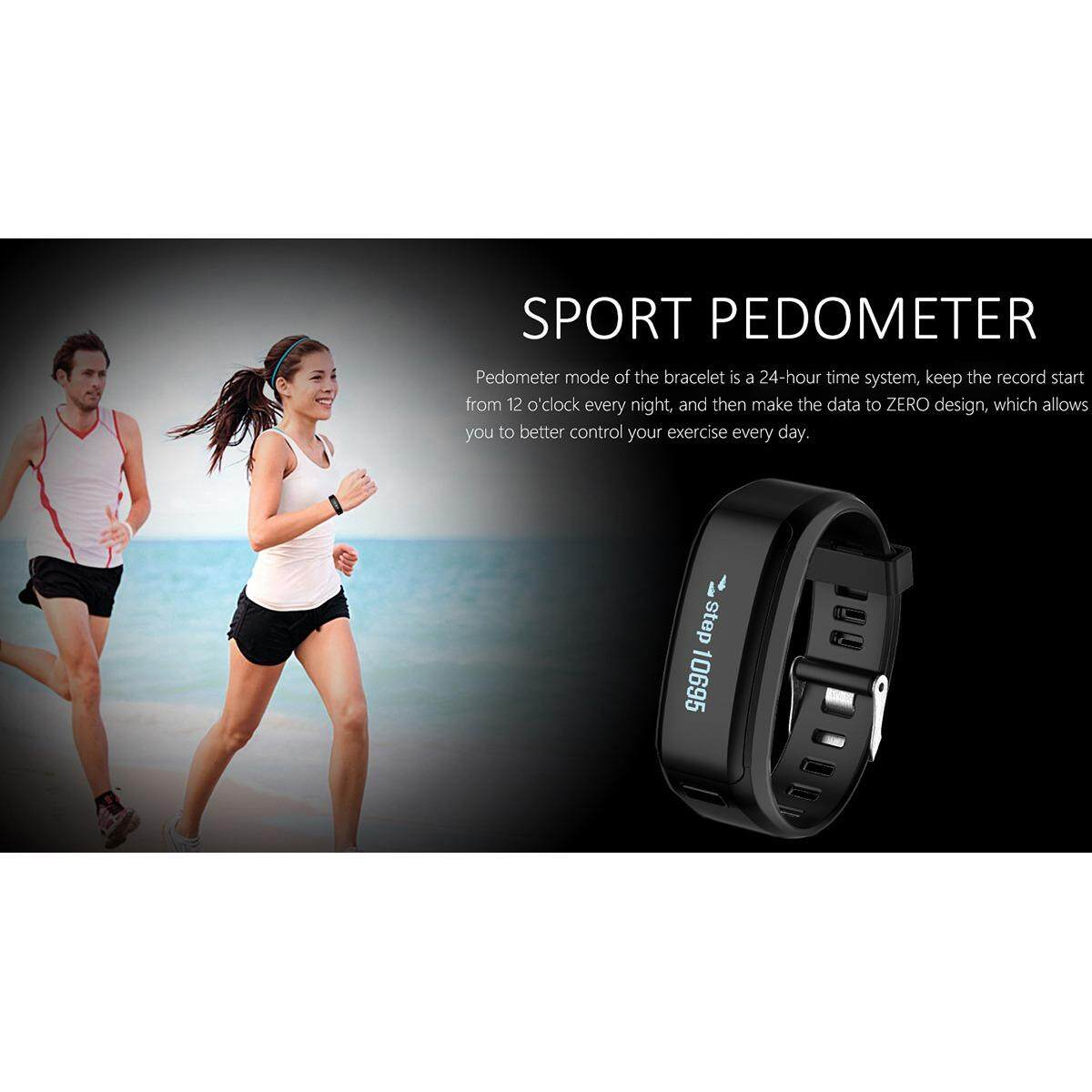 PREMIE F1 Smart Band Heart Rate / Pressure 2 Months Warranty Local Seller