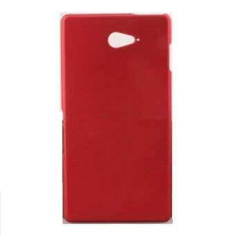 Harga PREMIE Hard Case Cover for Sony Xperia M2 Aqua (Red)
