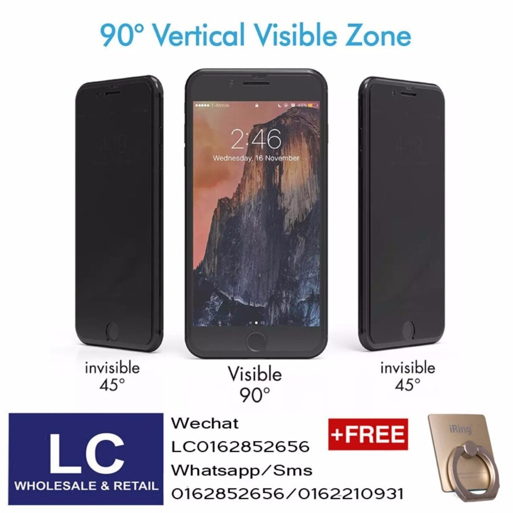 Premium HD Privacy Tempered Glass VIVO Y55