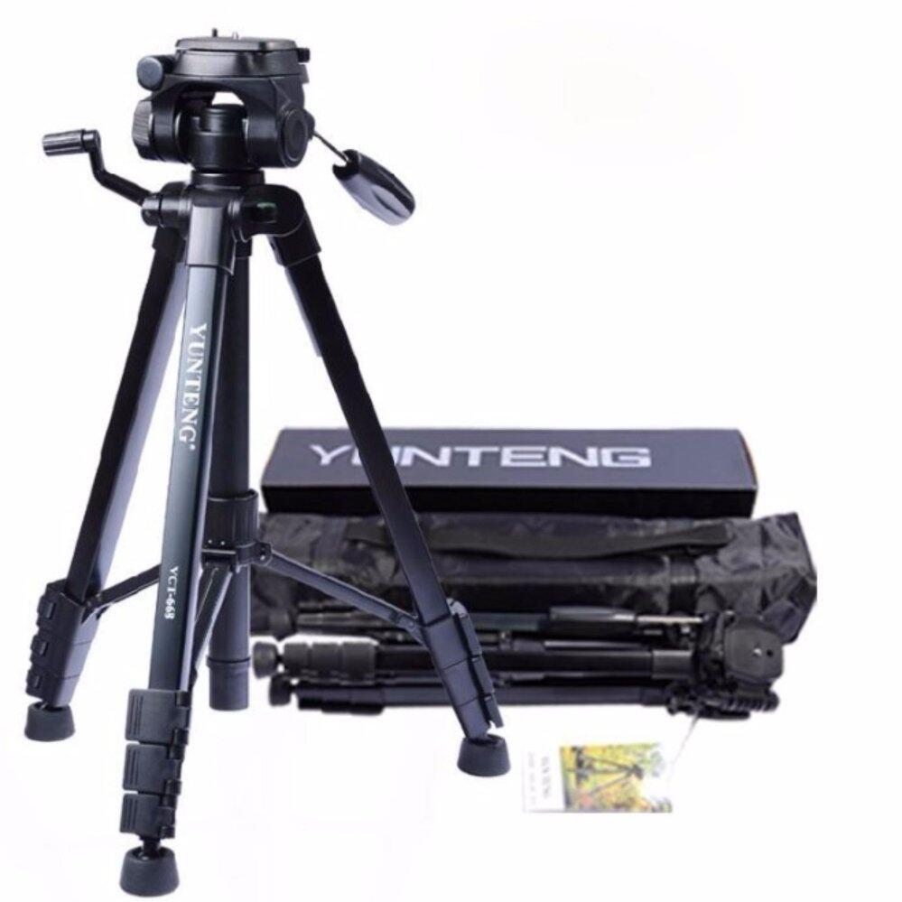 Pro YUNTENG VCT-668 Tripod Damping Head Fluid Pan camera DV Phone