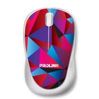 PROLiNK PMC1005 Artist Collection USB Optical Mouse (Crystal Petal) Malaysia
