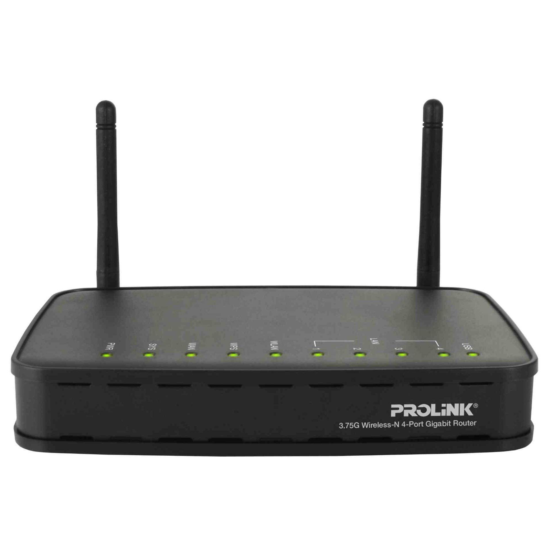 PROLiNK WNR1008 Wireless-N Gigabit Router with ShareHub Print Server