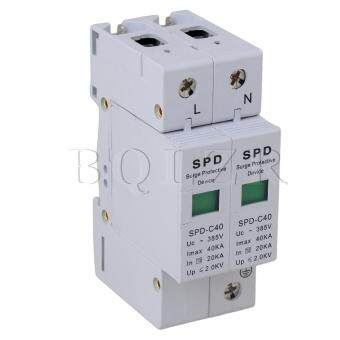 Protective Device SPD Lightning Arrester (White)