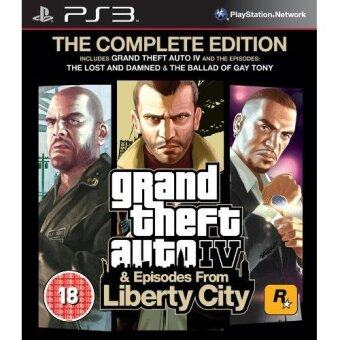 Harga Ps3 Grand Theft Auto IV & Episodes from Liberty City The Complete Edition (2in1)Eng All