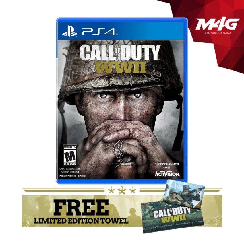 PS4 Call of Duty: WWII (Bonus: Beach Towel) - intl