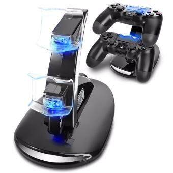 PS4 Charger, Dual USB Charging Charger Docking Station Stand for Playstation 4 PS4 / PS4 Pro / PS4 Slim Controller