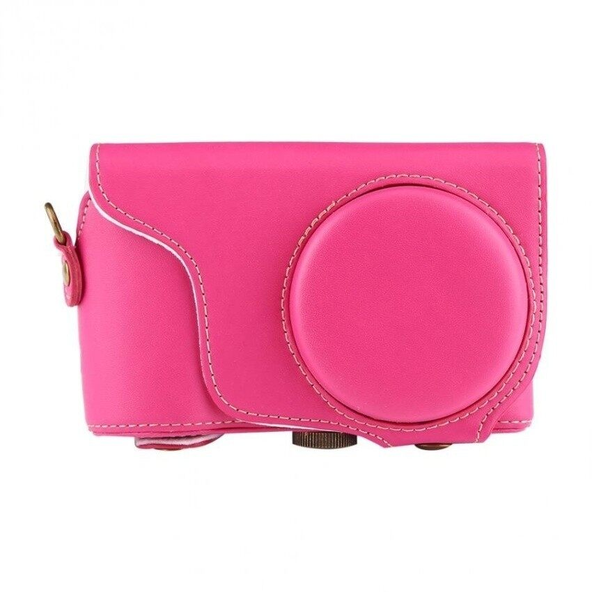 PU Leather Camera Case Bag with Shoulder Strap ForSamsungGC200/GC110/GC100 HAO YUAN KE JI 239 - intl