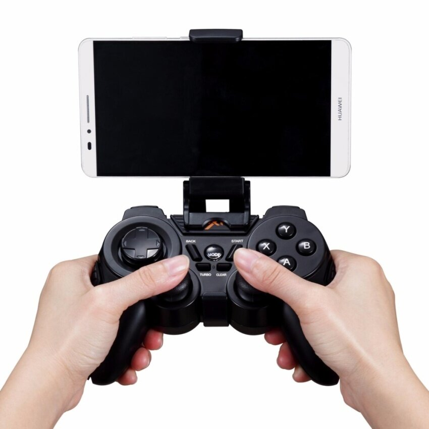 PXN-8663 Black Bluetooth Gamepad Wireless Controller for AndroidMobile Legends/Mobile Strike/Sniper 3D Assassin/ CSR Racing/ PES/ SUP Multiplayer Racing/Need for Speed - intl