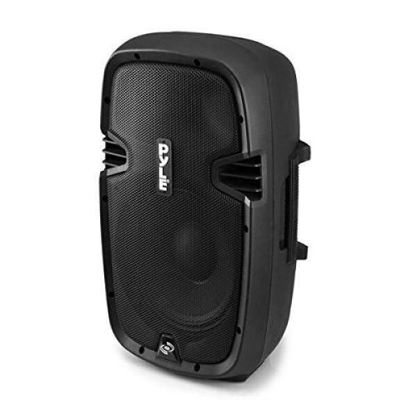 Pyle Powered Loudspeaker [Active PA Speaker System] Digital Sound Amplifier 2-Way Stereo Sound & Power Bass 8-Inch Subwoofer 600 Watt (PPHP803MU) - intl