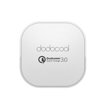 Harga [Qualcomm Quick Charge 3.0] dodocool Quick Charge 3.0 18W USB WallCharger for LG G5 / HTC One A9 / Sony Xperia Z4 Tablet / Xiaomi Mi5 / LeTV Le MAX Pro UK Plug (Intl)