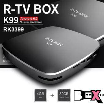 Harga R-TV K99 4GB 32GB Smart Android TV Box (pre-installed Malaysian Apps & KODI 17)