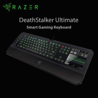 Razer Deathstalker Ultimate Gaming Keyboard (Individually Tri-colour  Backlit Keys, switch Blade UI) RZ03-00790100-R3M1