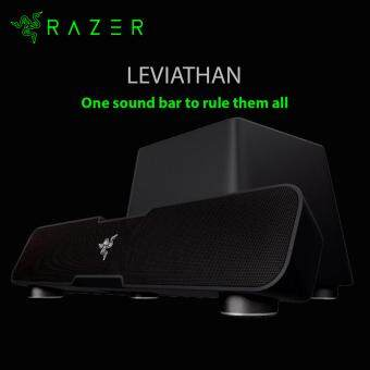 Harga Razer Leviathan 5.1 Surround Soundbar (Dolby@ technology, Bluetoothv4.O aptX@, Built in NFC Technology) RZ05-01260100-R3A1