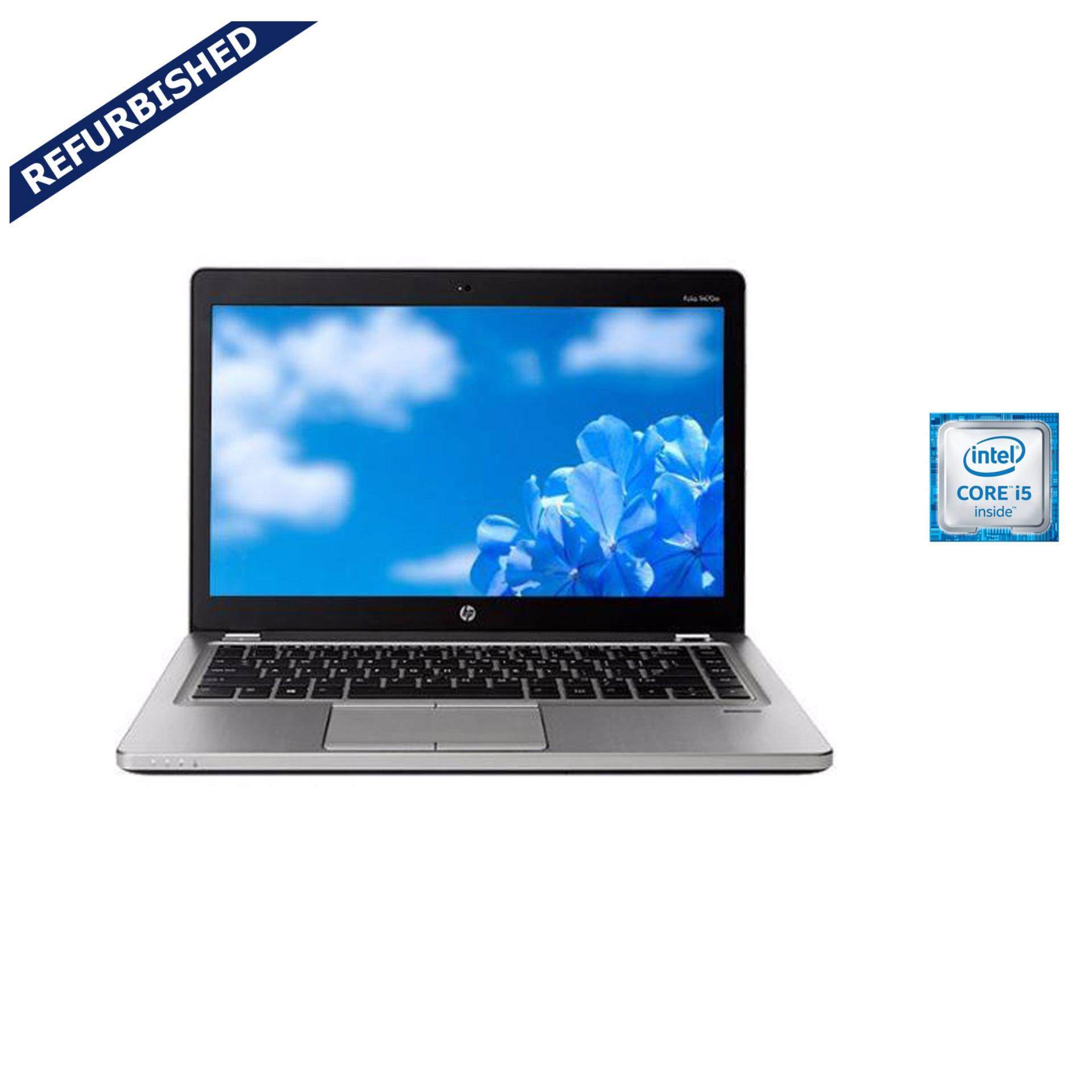 Refurbished HP EliteBookFolio  9470m Intel Core i5-3317U@1.70GHz Ultrabook / Laptop / Silver Malaysia