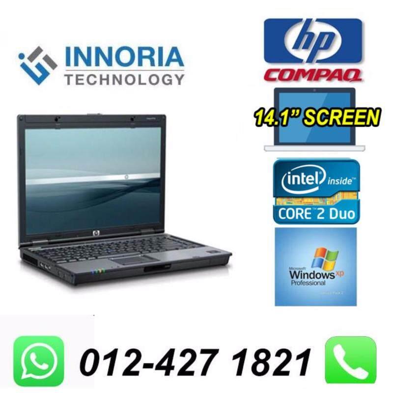 (Refurbished Notebook)HP COMPAQ 6910 Laptop / Core 2 Duo CPU / 2gb Ram / 80gb Hard Disk / 14 inch LCD / DVD Writer / Windown XP Malaysia